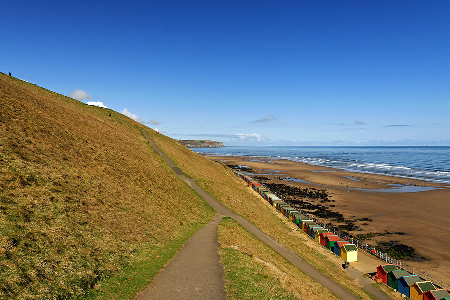 Along The West Cliff - Whitby Photograph