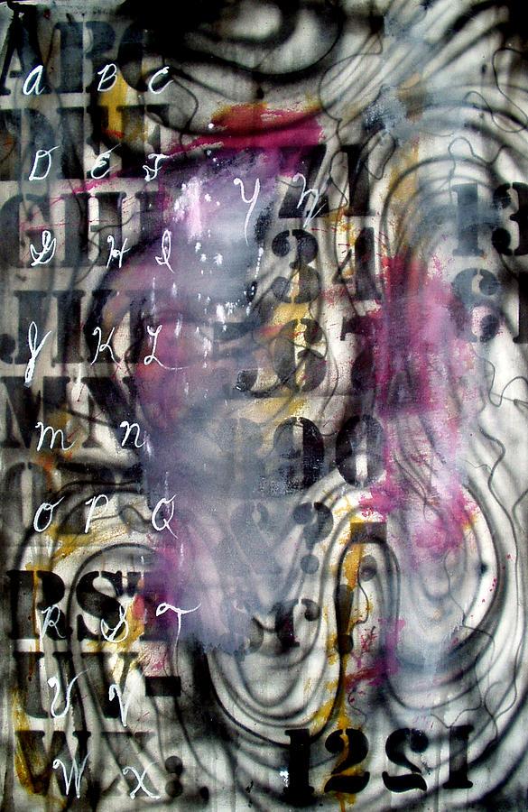 Alphabet Painting - Alphabet by Leigh Odom