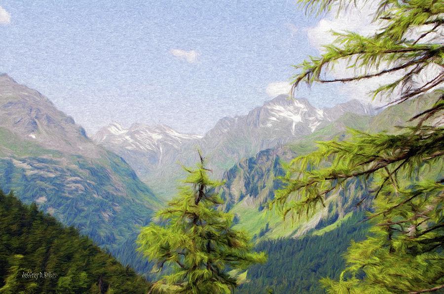 Alpine Painting - Alpine Altitude by Jeffrey Kolker