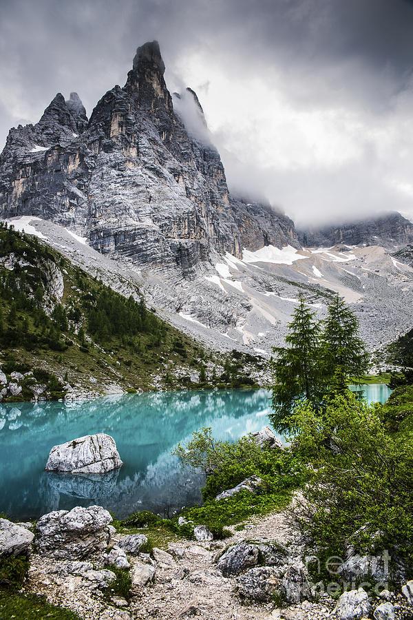 Alpine Lake Photograph
