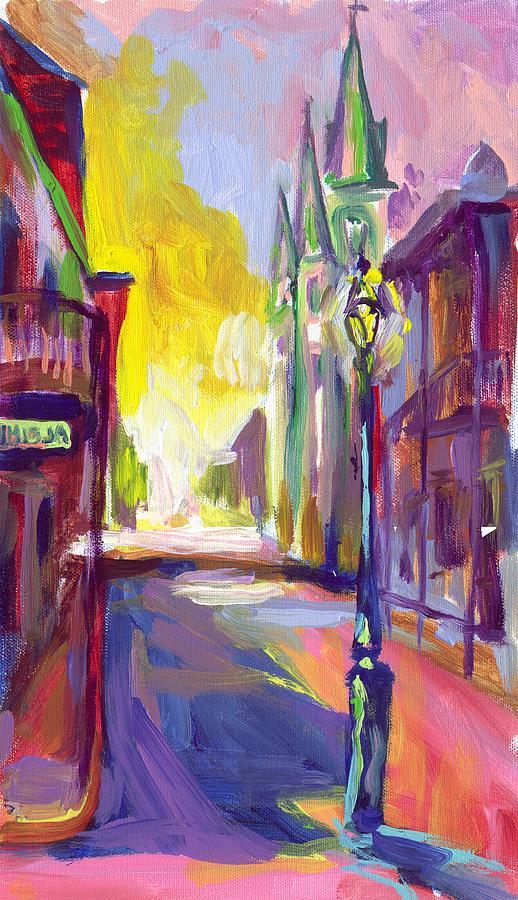 New Orleans Painting - Alpine by Saundra Bolen Samuel
