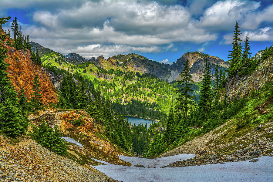 Landscape Photograph - Alpine Solitude by Jason Brooks