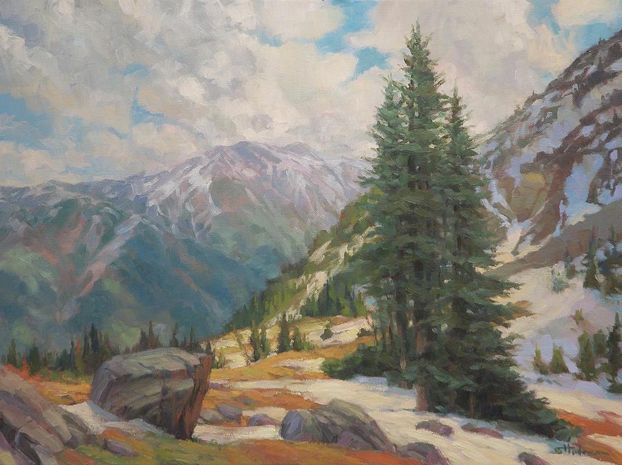 Alpine Spring Painting