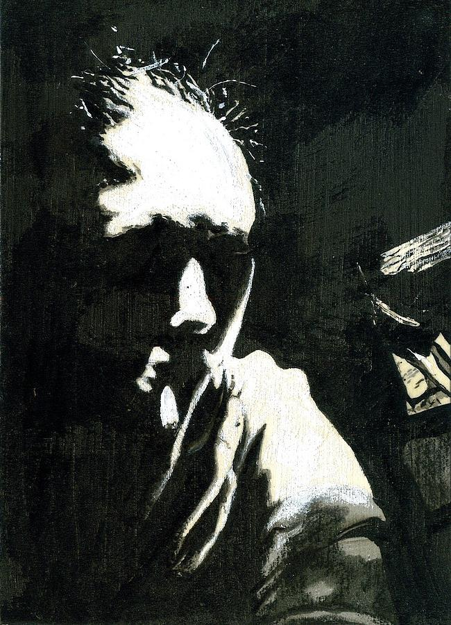 Dark Drawing - Altered Drink IIi by Cameron Hampton PSA