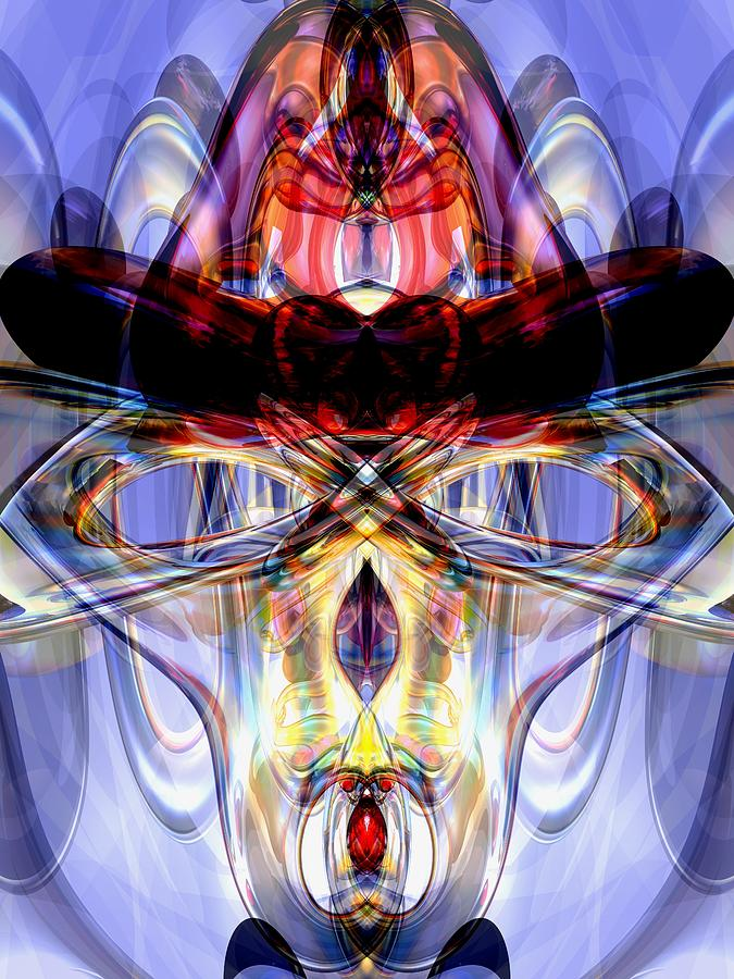 3d Digital Art - Altered States Abstract by Alexander Butler