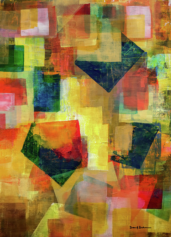 Abstract Painting - Altered Vision 2  by Dan Sisken