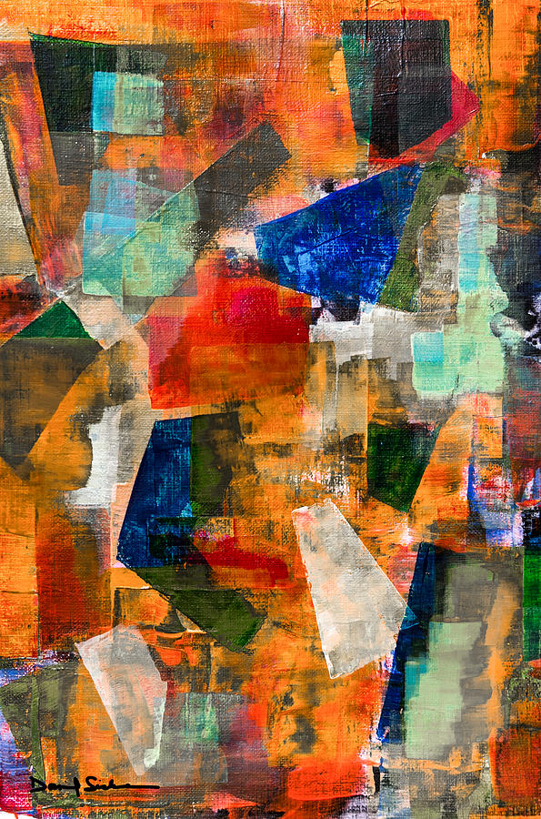 Abstract Painting - Altered Vision by Dan Sisken