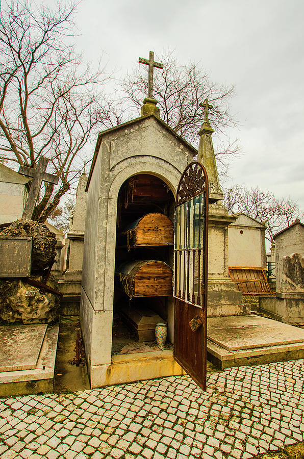 Image result for image of an open mausoleum