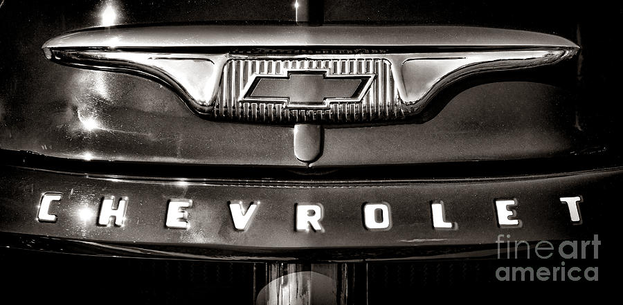 Chevrolet Photograph - Always A Chevrolet  by Olivier Le Queinec