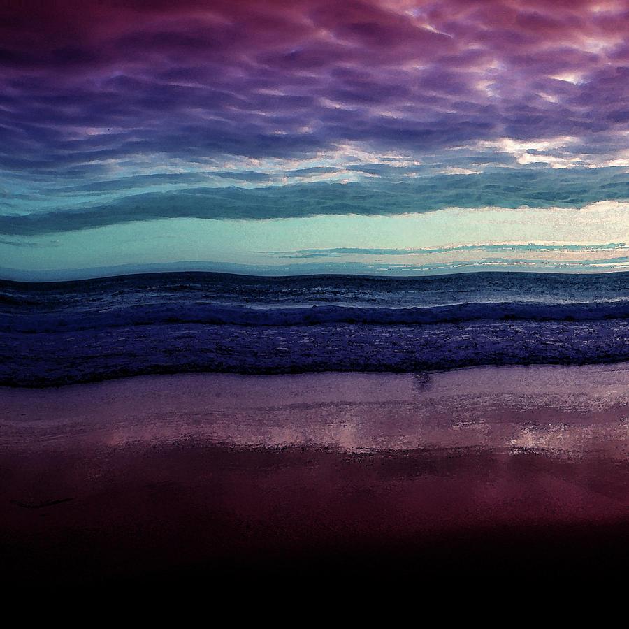 Abstract Digital Art - Always A Horizon by Bonnie Bruno