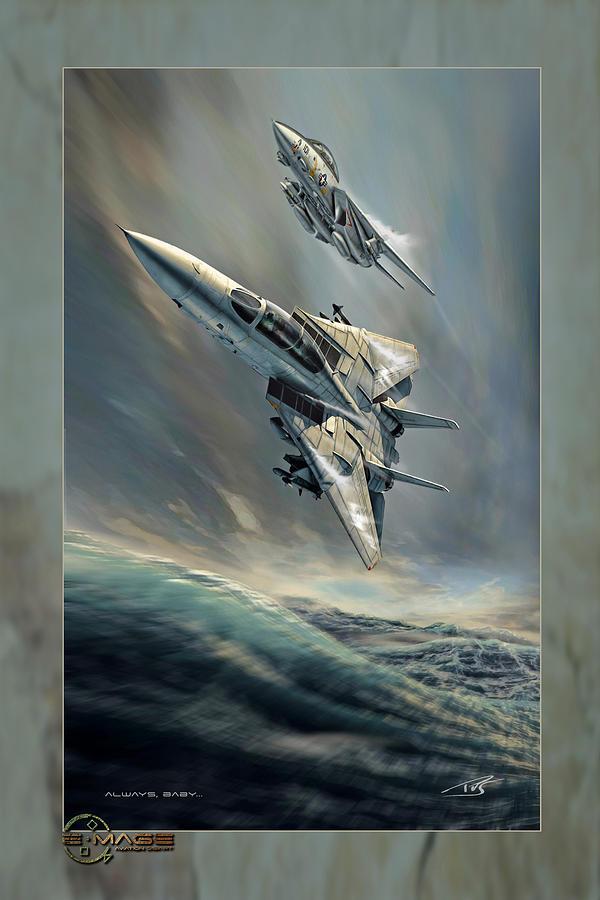 War Digital Art - Always Baby by Peter Van Stigt