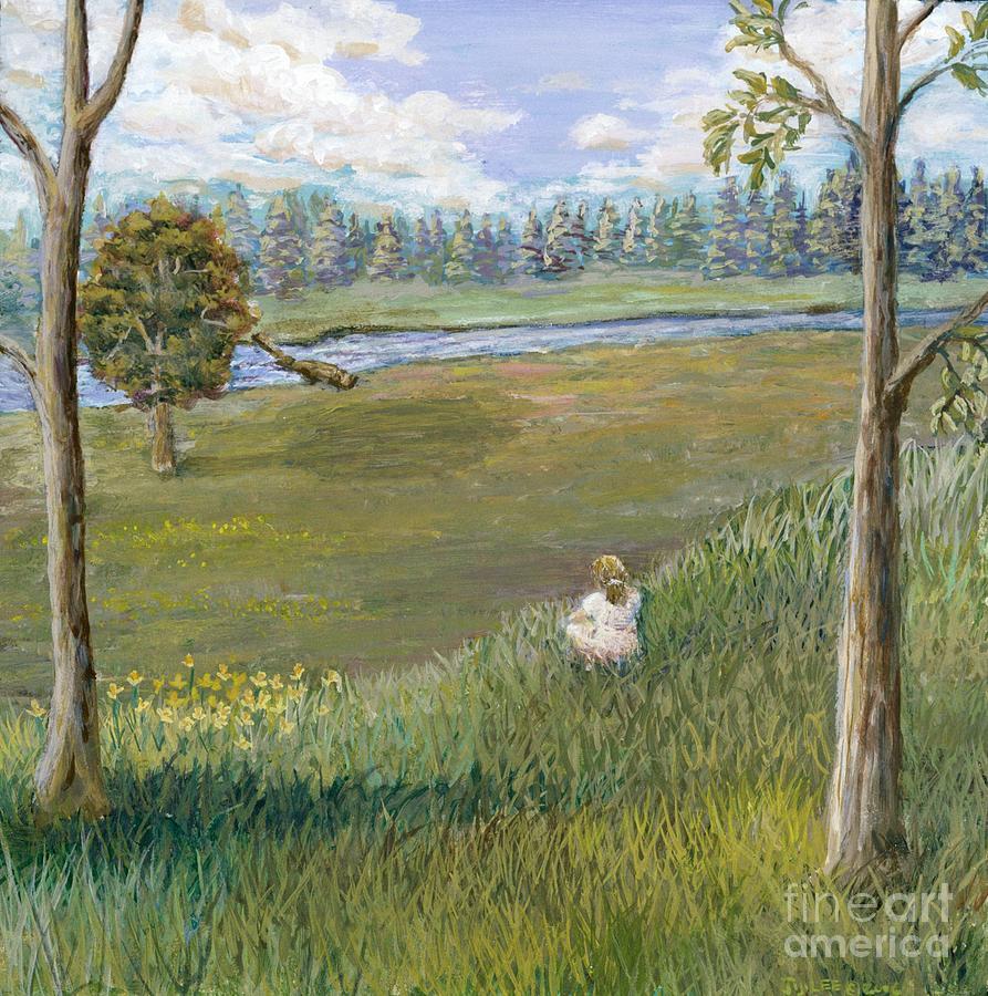 Landscape Painting - Always Enough by Jiji Lee