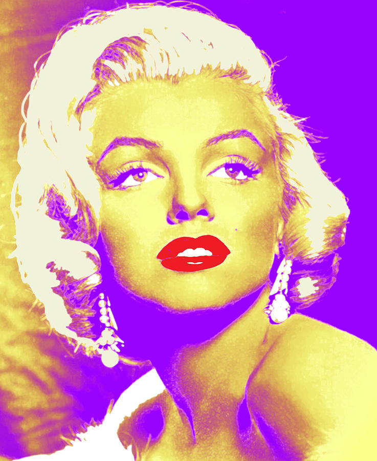 Marilyn Digital Art - Always Marilyn by Joy McKenzie