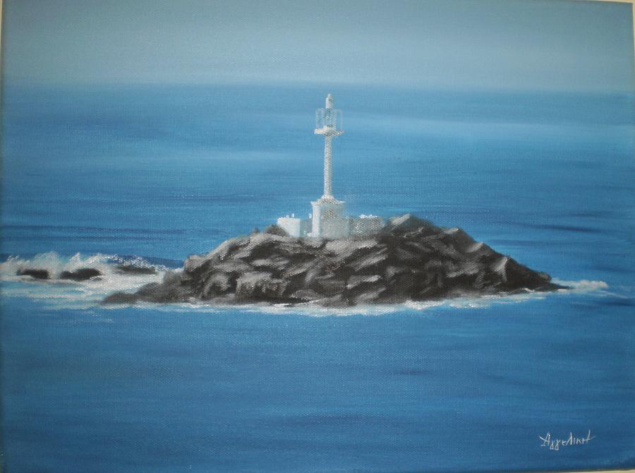 Seascape Painting - Always There by Ageliki