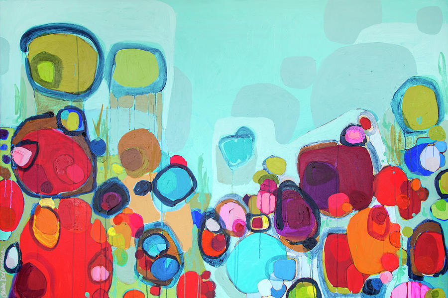 Abstract Painting - Always Will Be by Claire Desjardins