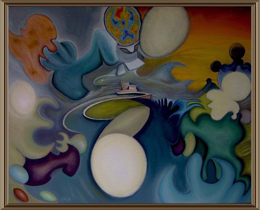 3d Painting - Alzheimer by Charles De SanJuan