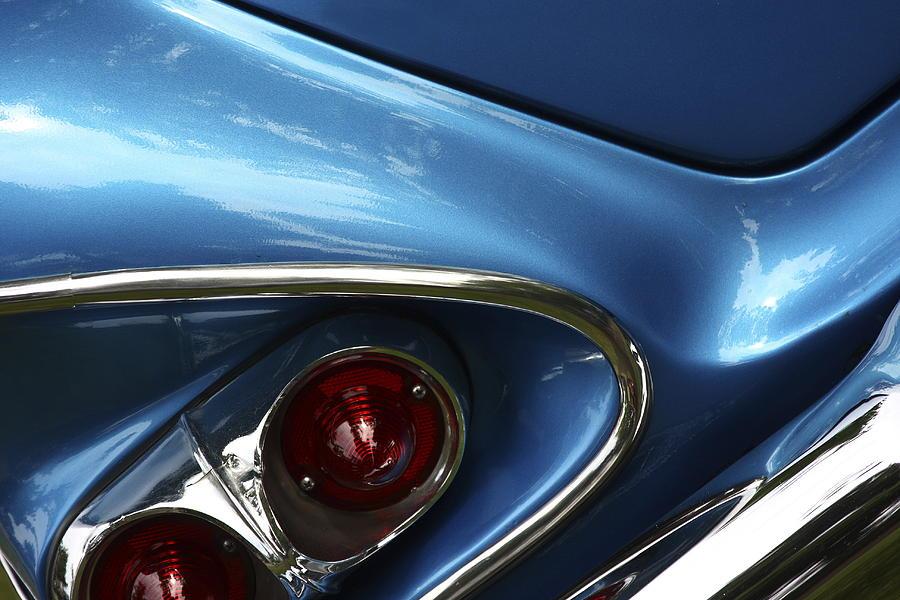 Classic Car Photograph - Am I Blue by Rebecca Cozart