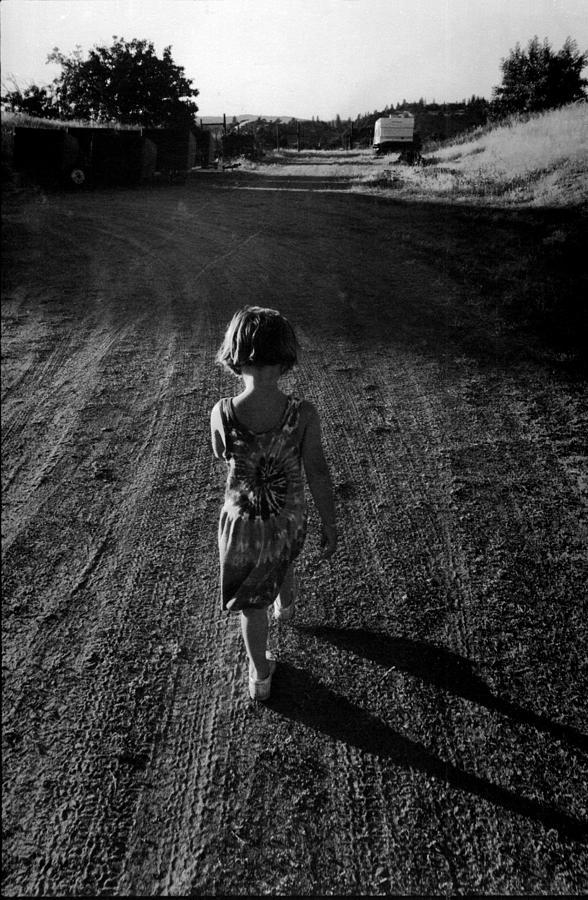Childhood Photograph - Amador by A paul Cartier