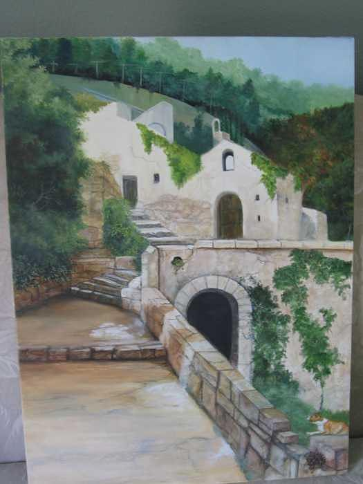 Amalfi Italy Painting by Colleen DalCanton