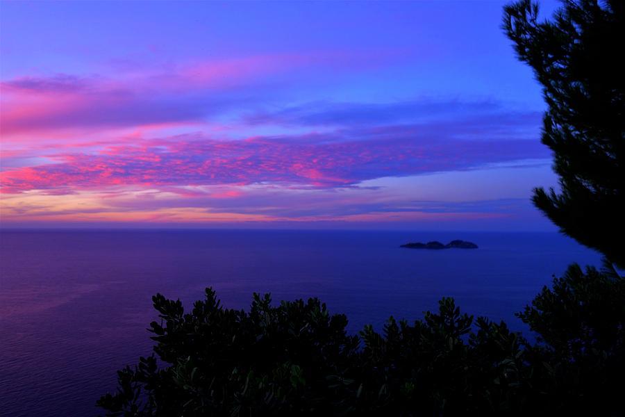 Amalfi Photograph - Amalfi Sunrise by Richard Horbelt