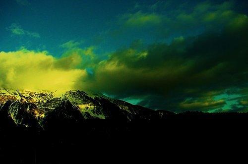 Switzerland Photograph - Amarelo by Nila  Poduschco