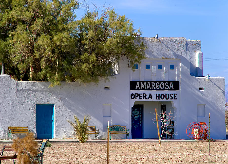 Amargosa Photograph - Amargosa Opera House by Tomasz Dziubinski