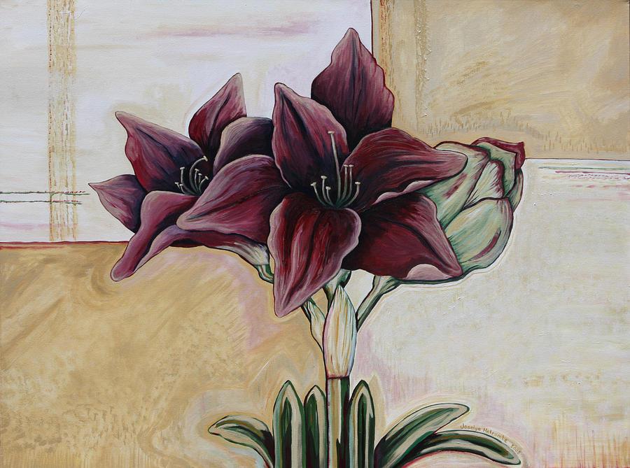 Amaryllis by Joselyn Holcombe