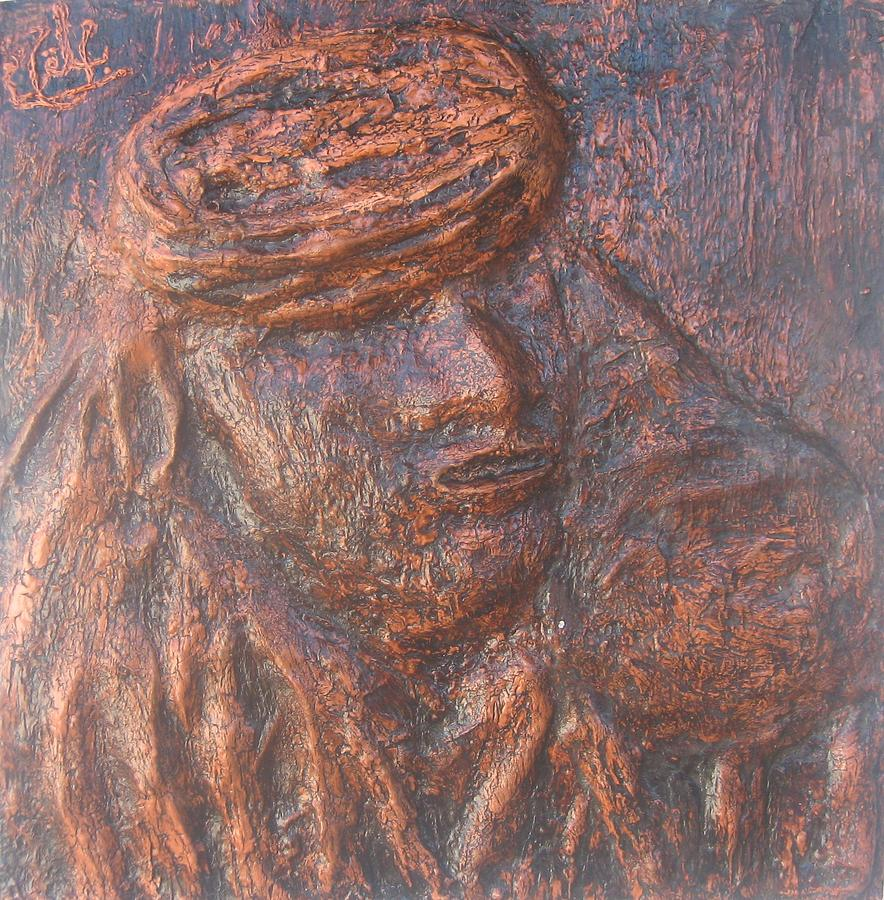 Amazigh 02 2009 Relief by Mohamed-Hosni Belkorchi