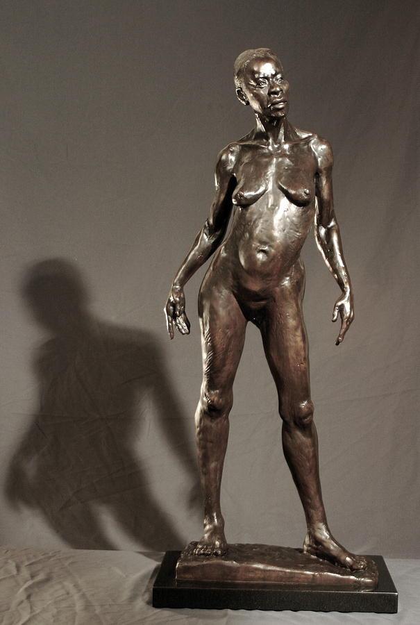 Bronze Sculpture Sculpture - Amazing Grace by Dan Earle