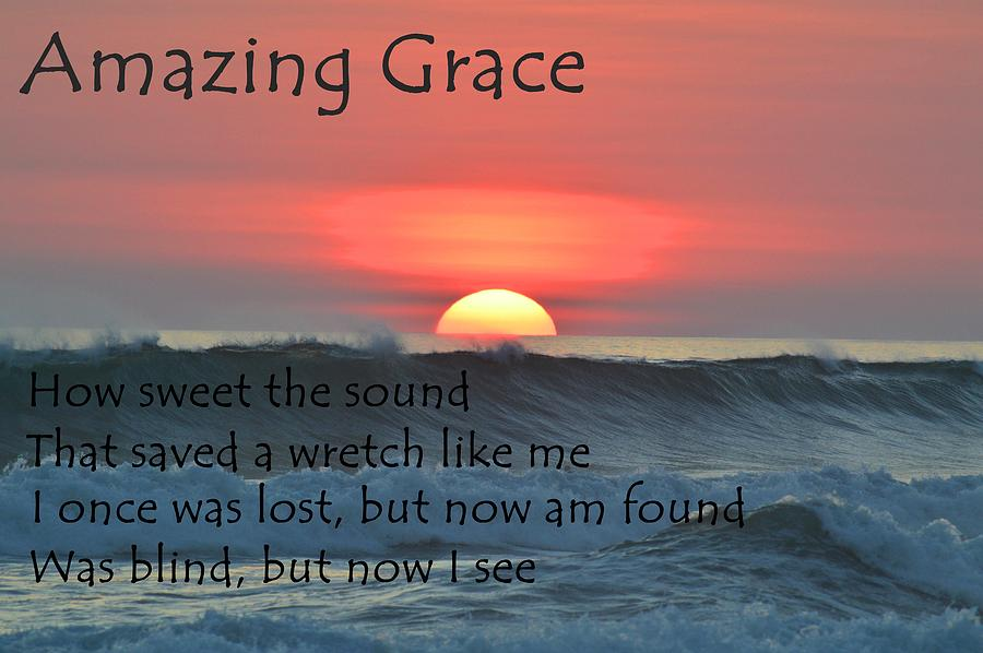 amazing grace ocean sunset photograph by movie poster prints