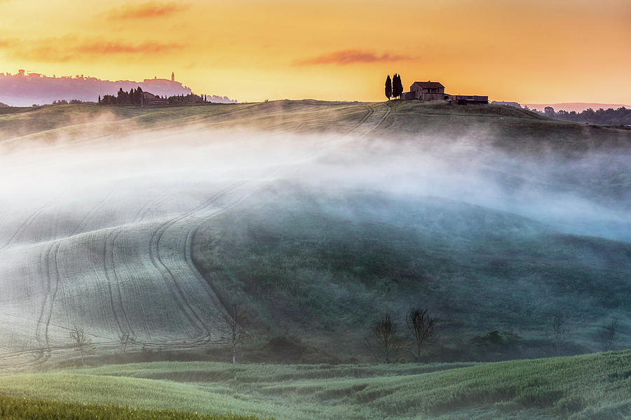 Italy Photograph - Amazing Landscape Of Tuscany by Evgeni Dinev