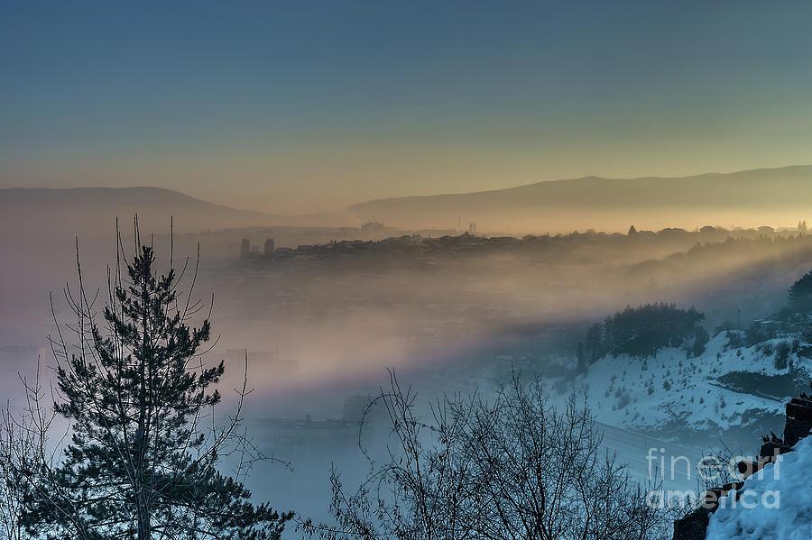 Amazing sunrise in the mountain by Nikolay Stoimenov