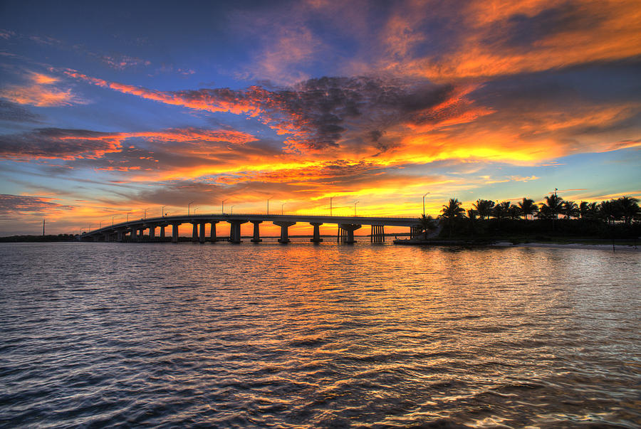Marco Island Photograph - Amazing Sunrise by Joey Waves