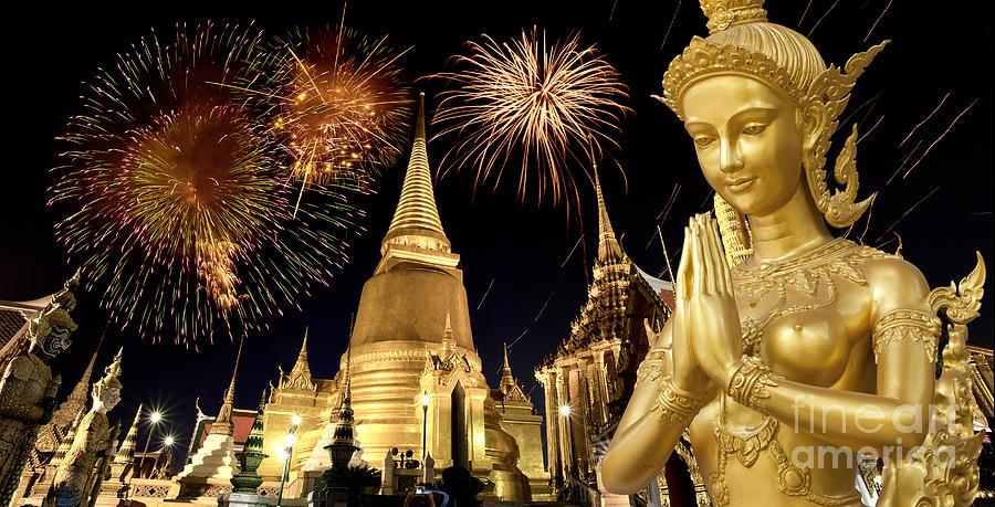 Ancient Photograph - Amazing Thailand by Anek Suwannaphoom