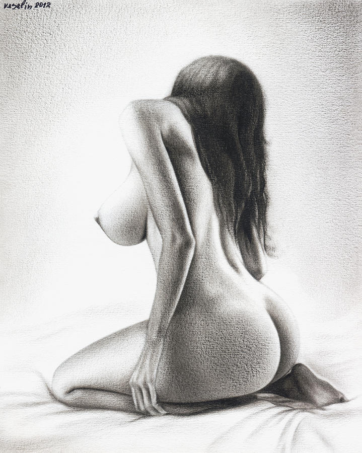 How to draw a nude woman