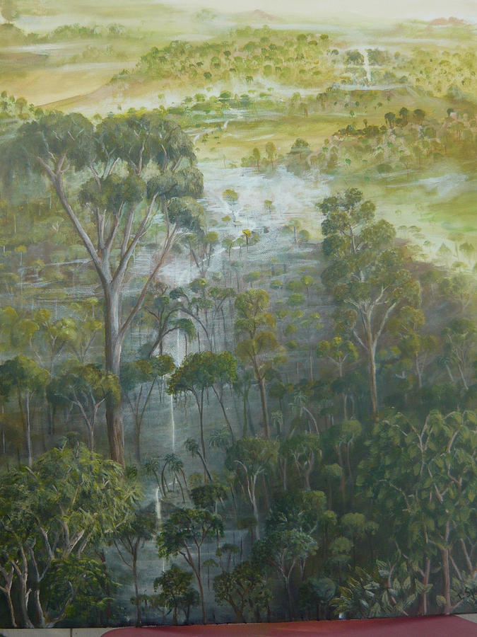 Amazon River Painting - Amazon Eden by Jill Spurlock