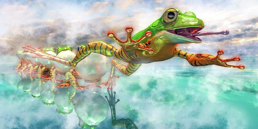 Amazon Frog Mighty Jumper Digital Art