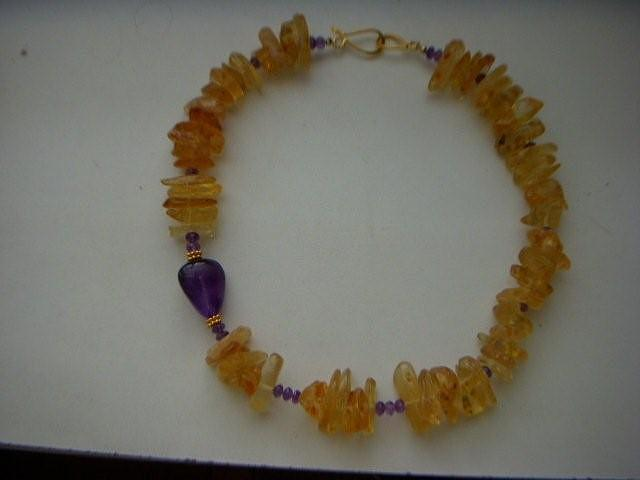 Jewelry Jewelry - Amber Necklace by Antoinette DAndria Rumely
