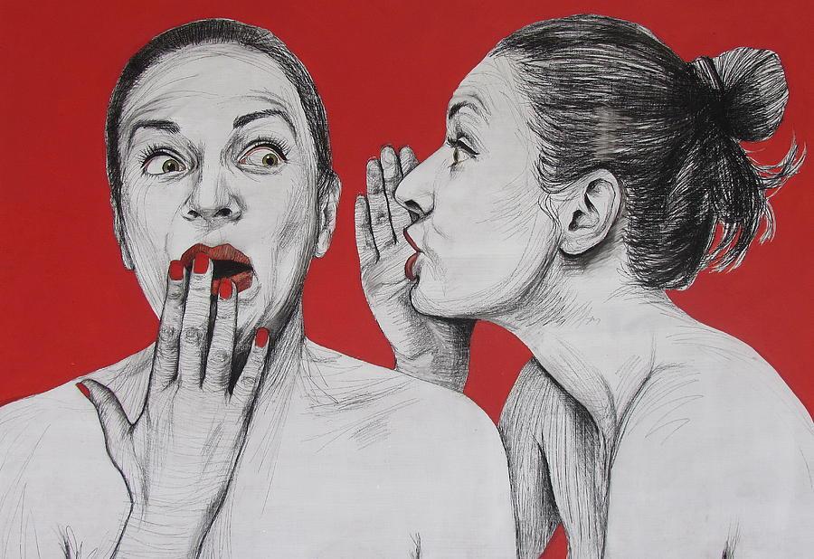 Dualism Painting - Ambiface 2 by Jovana Kolic