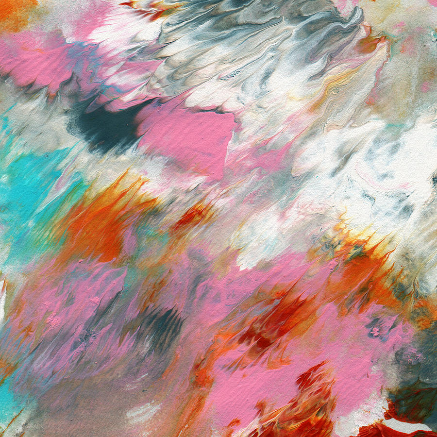 Ambrosia 2- Abstract Art By Linda Woods Painting