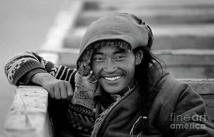 Amdo Smile - Tibet by Craig Lovell