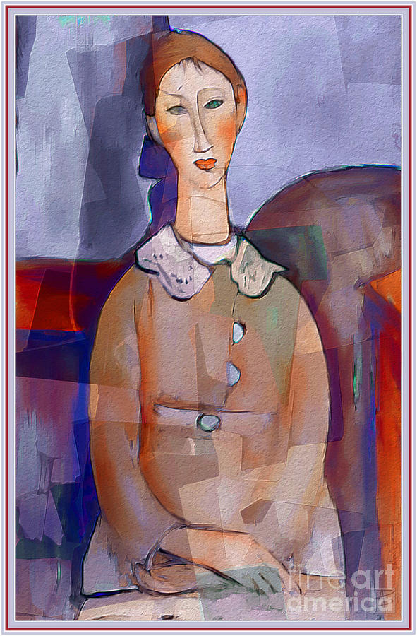 Amedeo Modigliani by Ante Barisic by Ante Barisic