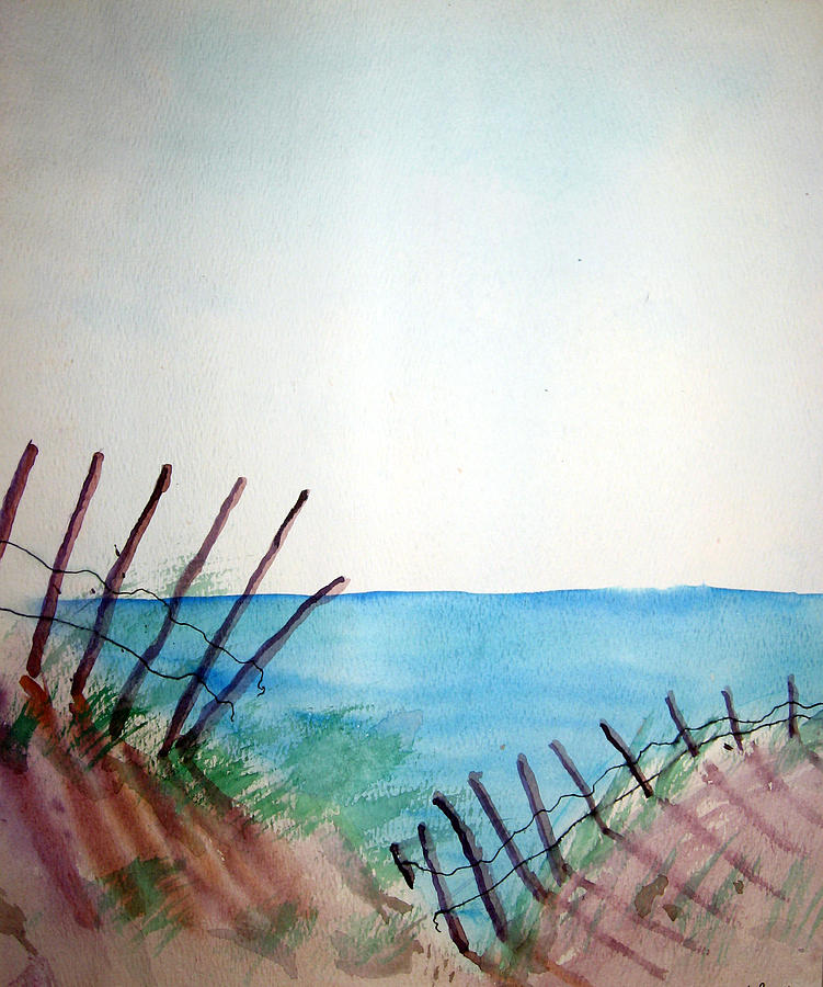 Beach Painting - Amelia Island by Leigh Odom