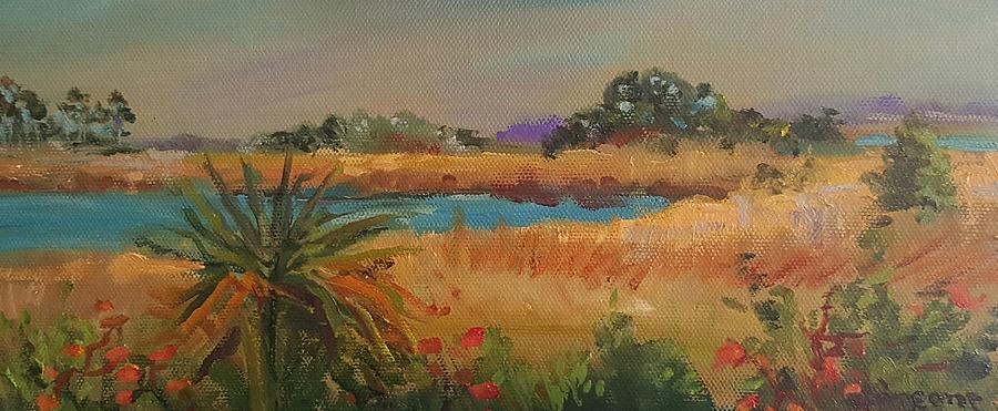 Amelia Island Marsh by Cheryl LaBahn Simeone