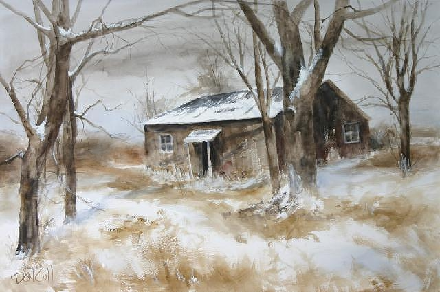 Watercolor Painting - America by Don Cull