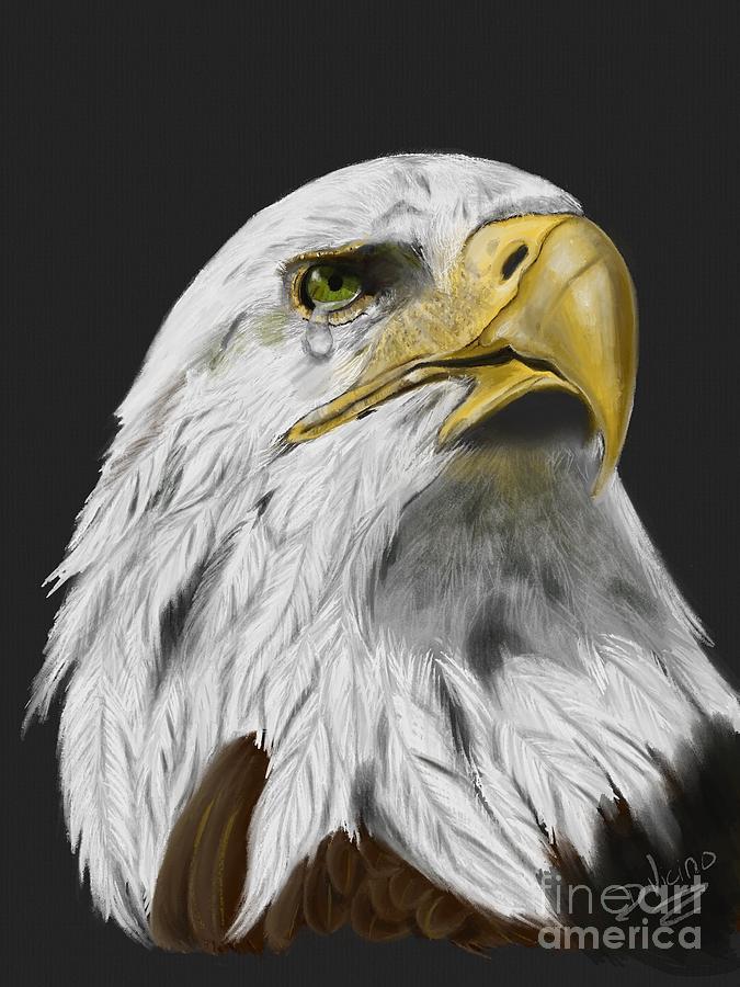 America Is Crying Digital Art by Deborah Vicino