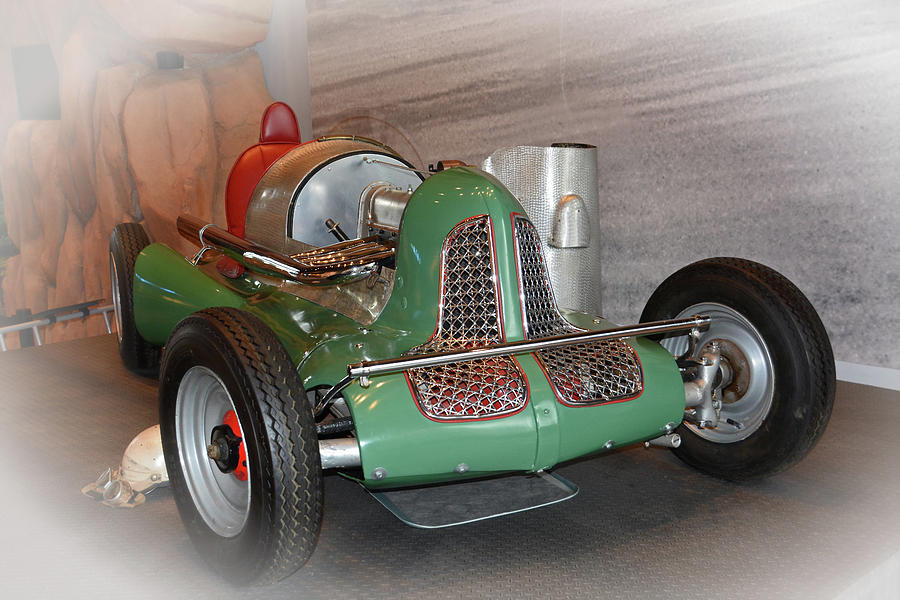 Auto Photograph - America On Wheels Midget Racer by Mike Martin