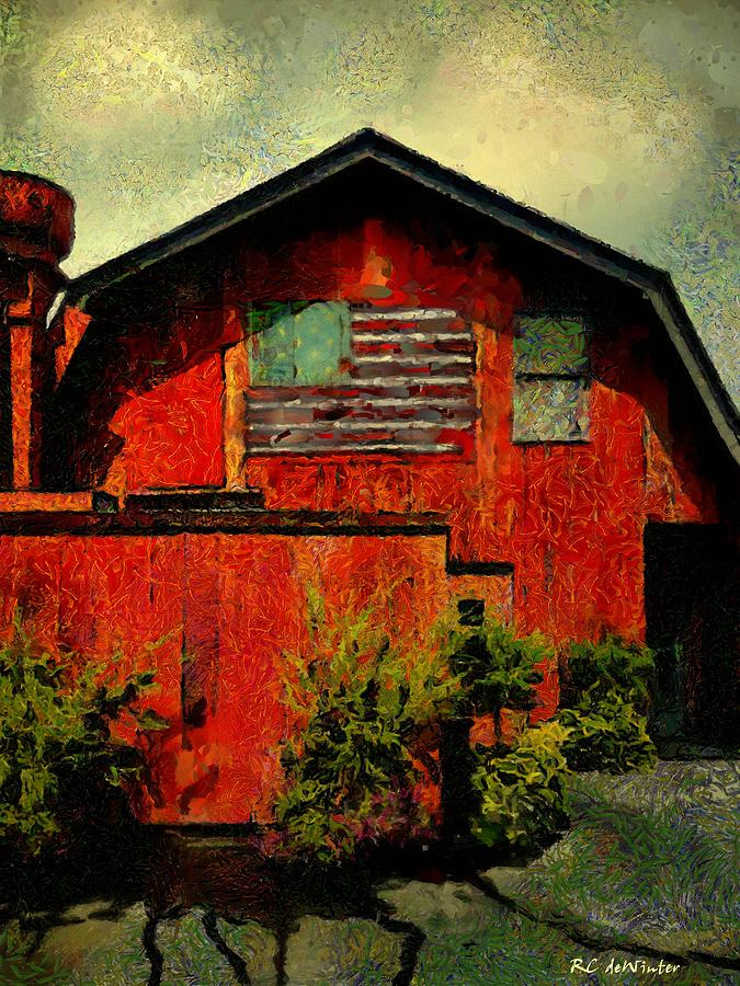 American Barn by RC DeWinter