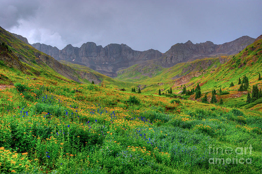 American Basin Summer Storm by Teri Brown