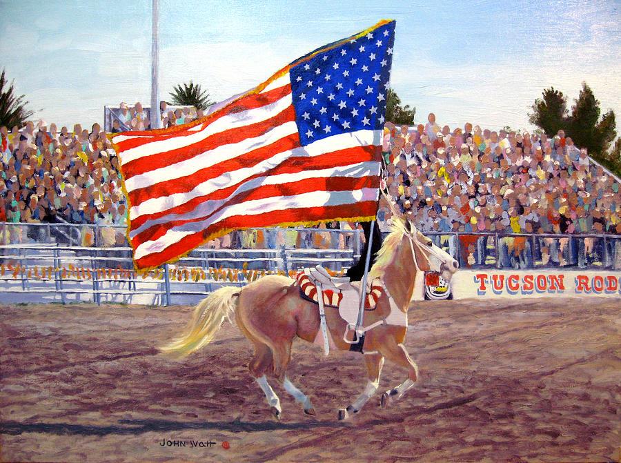 American Beauty Painting by John Watt